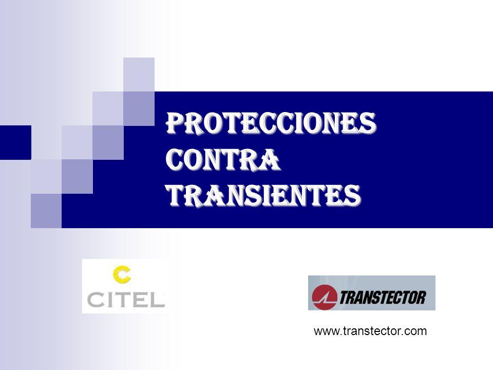 PROTECCIONES CONTRA TRANSIENTES