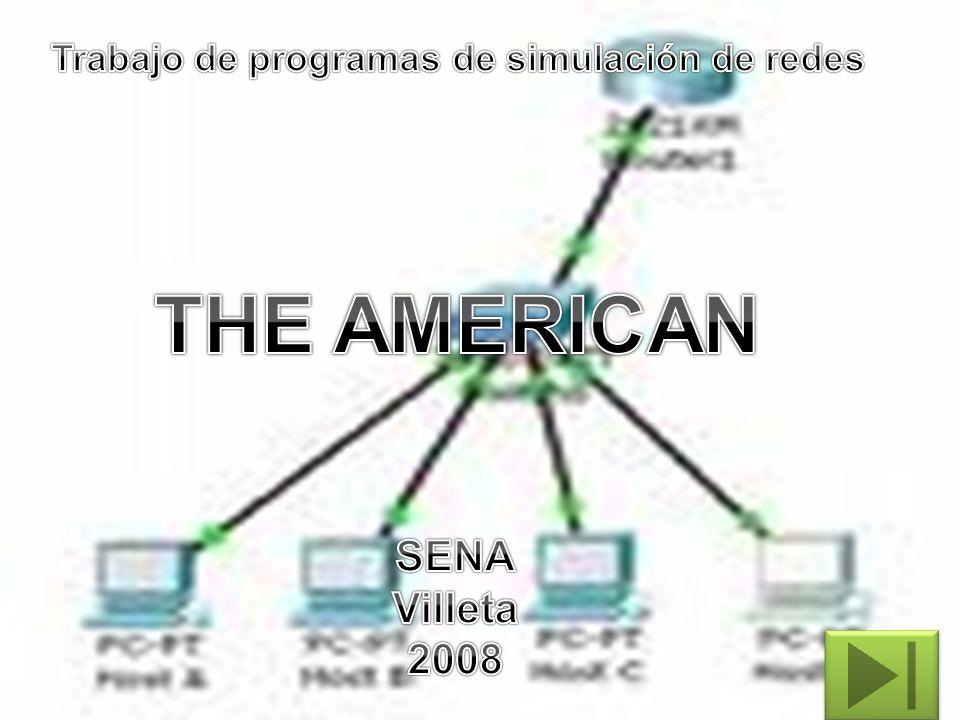 Trabajo de programas de simulación de redes