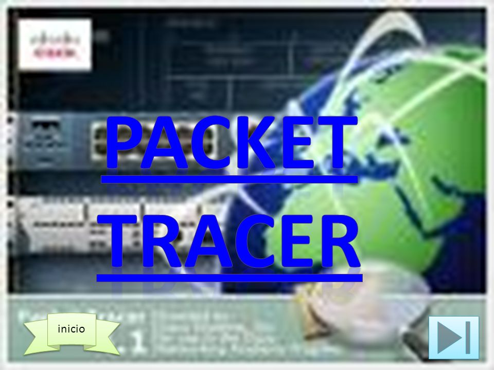 Packet tracer inicio