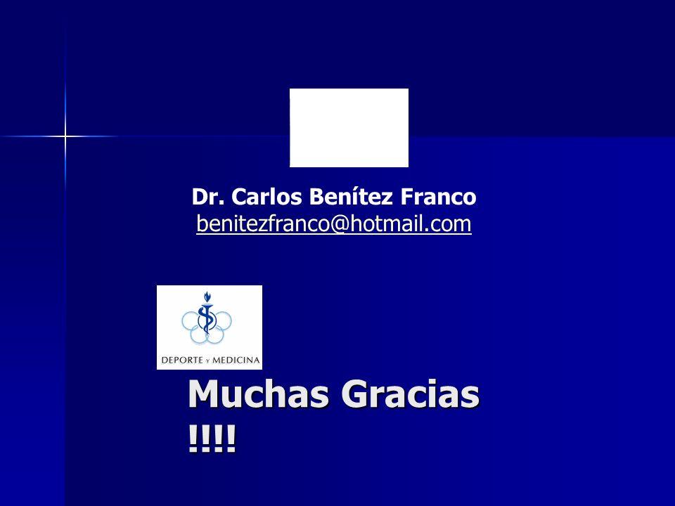 Dr. Carlos Benítez Franco