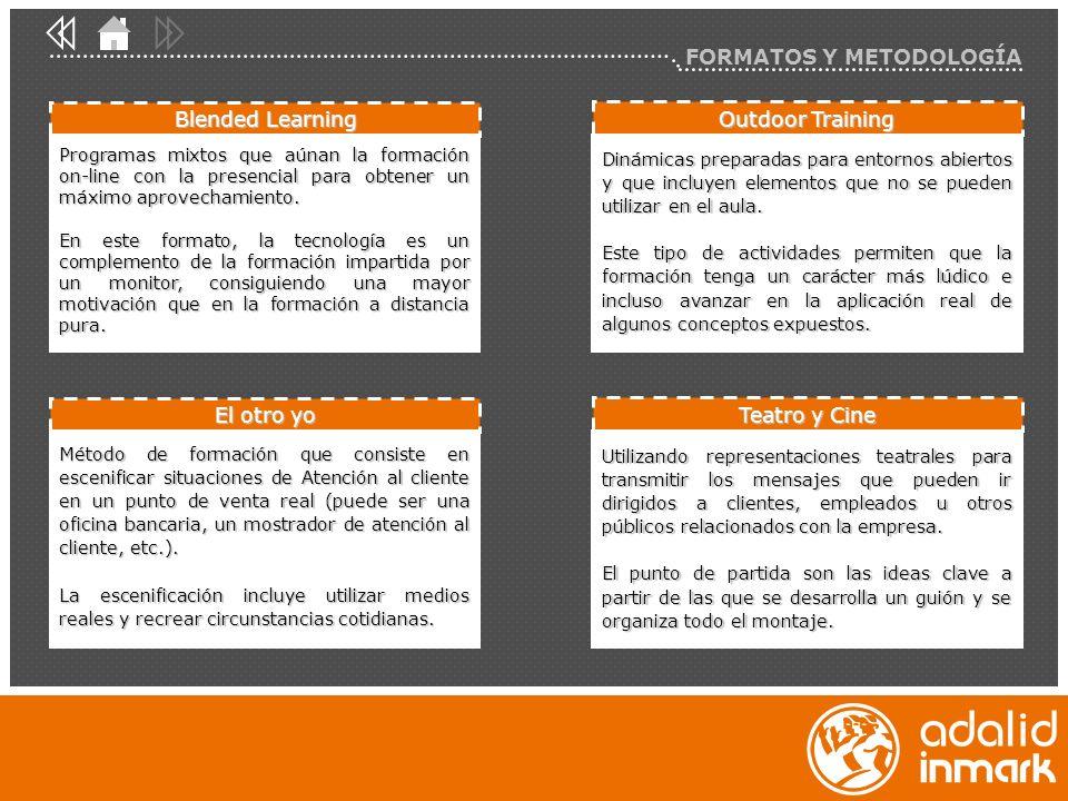 FORMATOS Y METODOLOGÍA