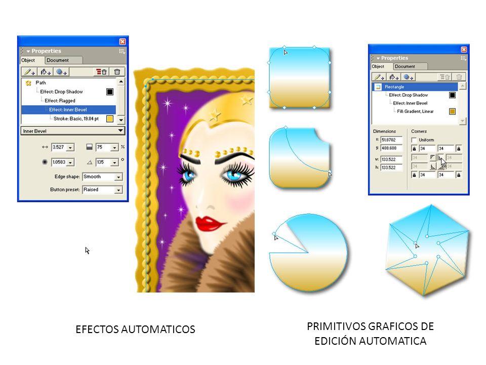 PRIMITIVOS GRAFICOS DE EDICIÓN AUTOMATICA