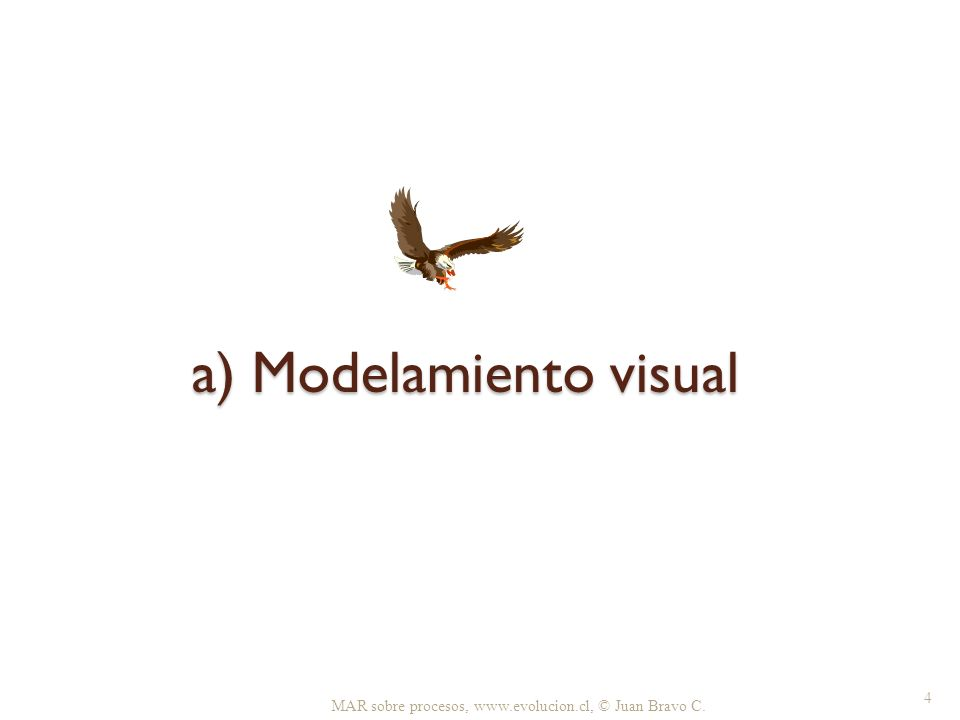 a) Modelamiento visual