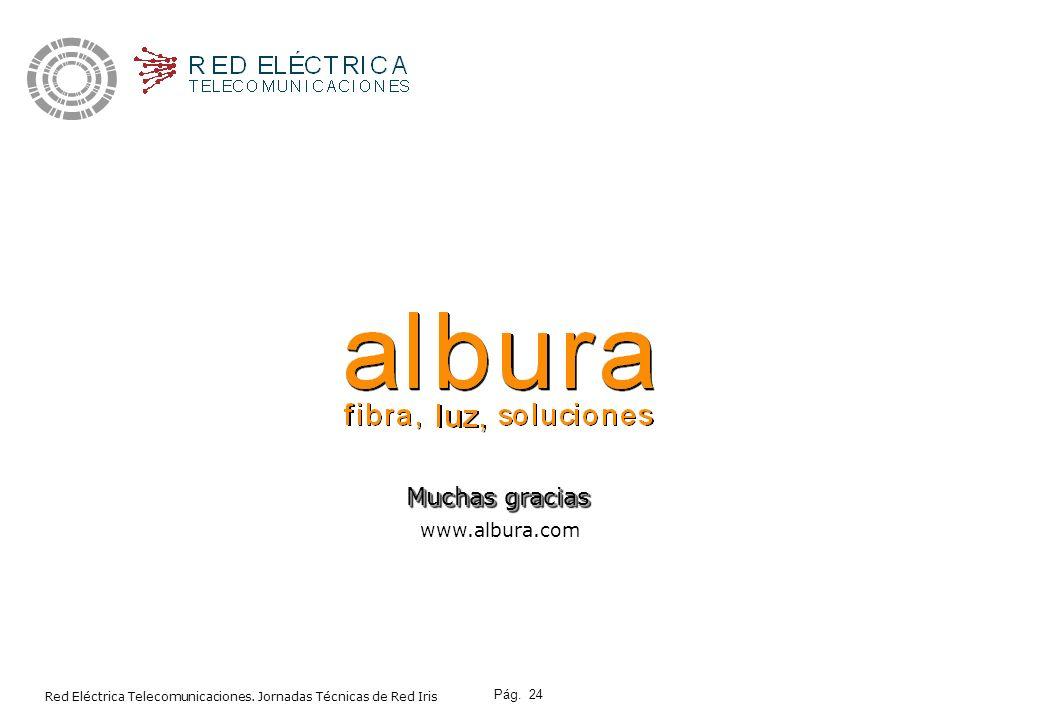 Muchas gracias www.albura.com