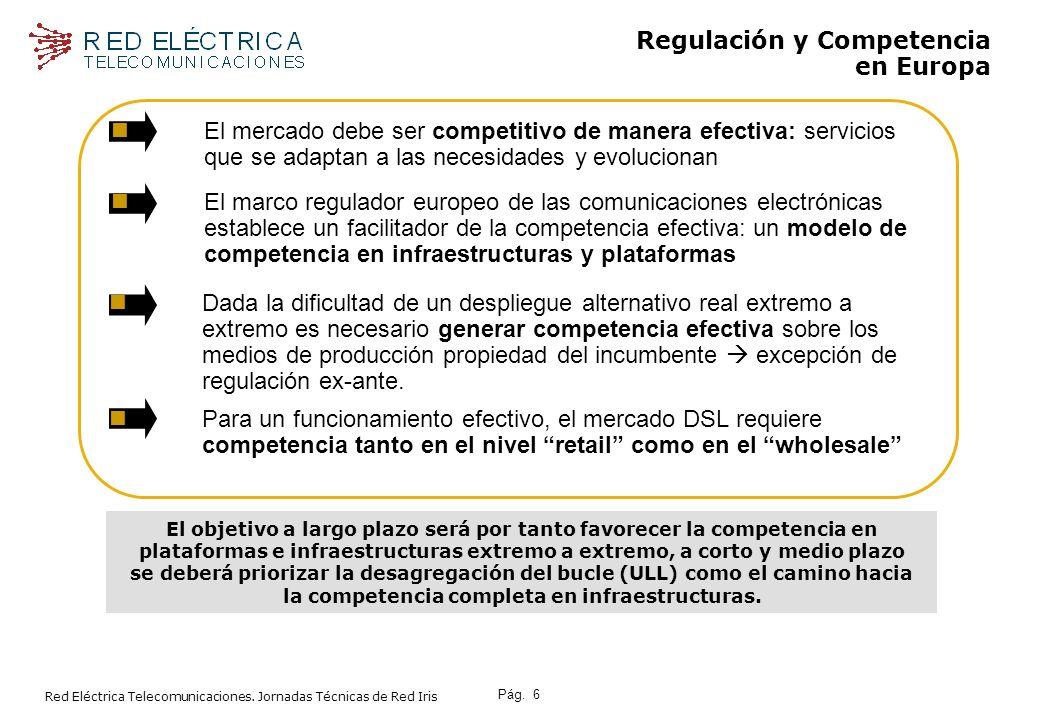 Regulación y Competencia en Europa