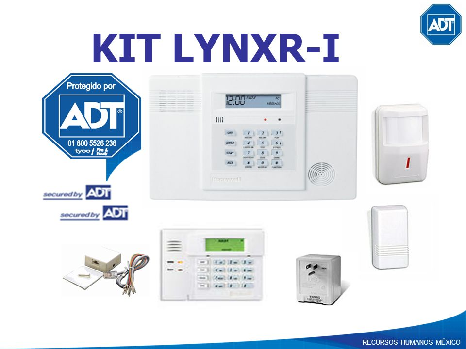 KIT LYNXR-I Protegido por 01 800 5526 238 tyco Fire & / Security