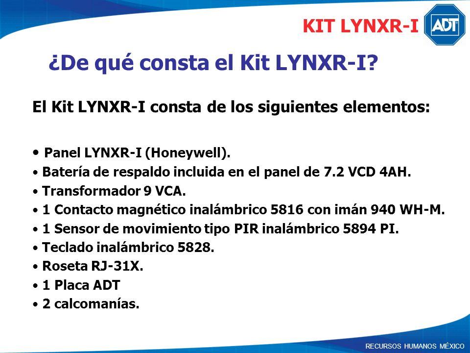 ¿De qué consta el Kit LYNXR-I