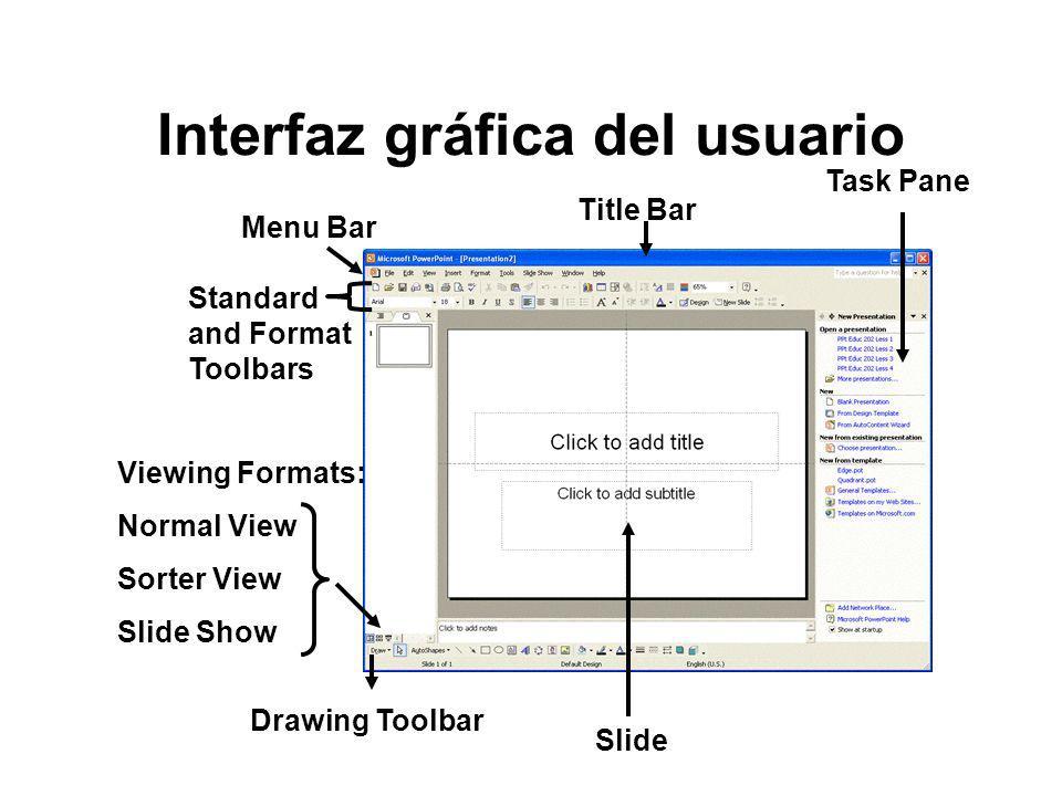 Interfaz gráfica del usuario