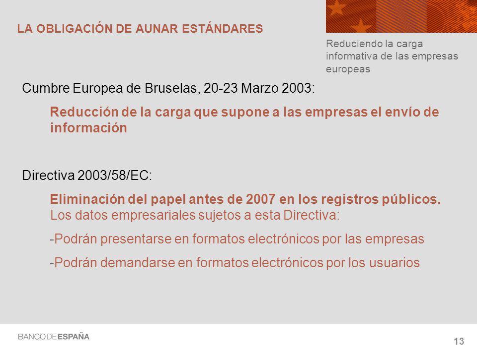 LA OBLIGACIÓN DE AUNAR ESTÁNDARES