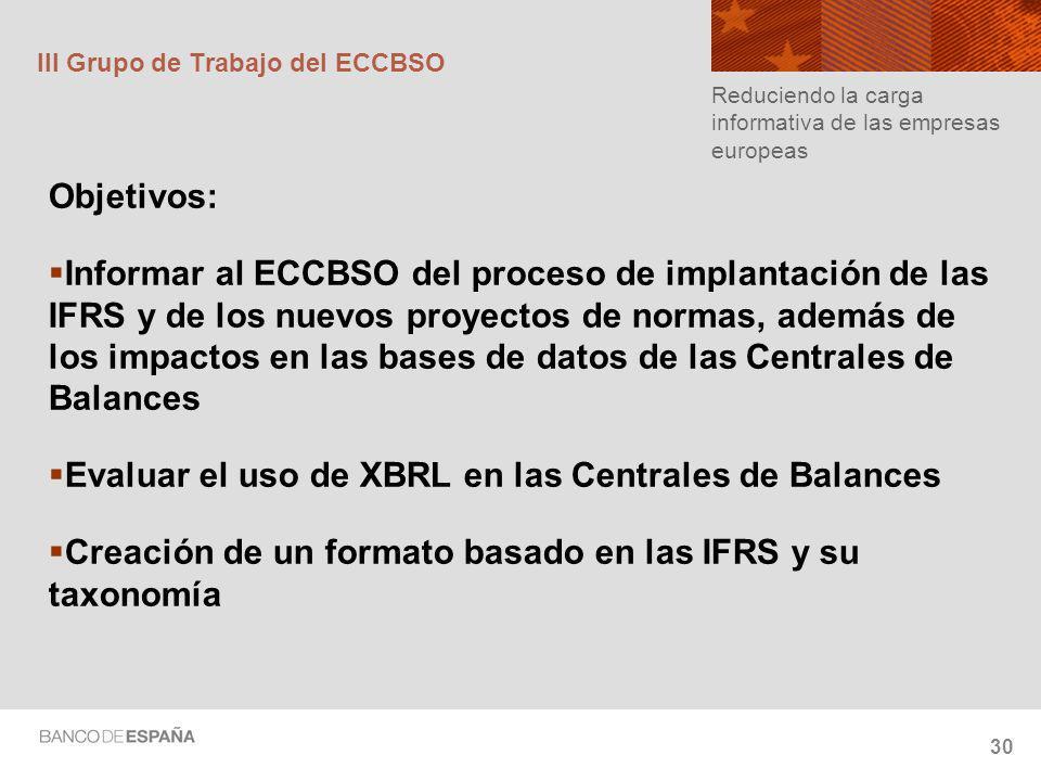 III Grupo de Trabajo del ECCBSO