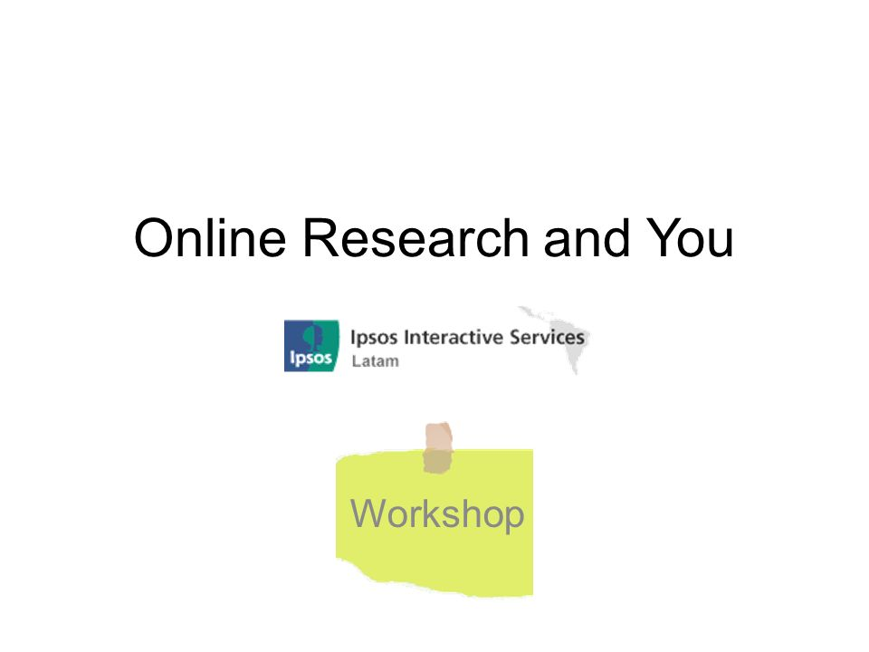 Online Research and You