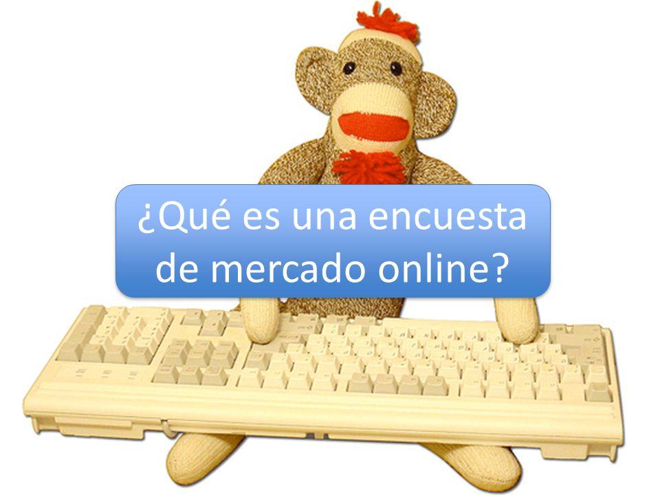 ¿Qué es una encuesta de mercado online