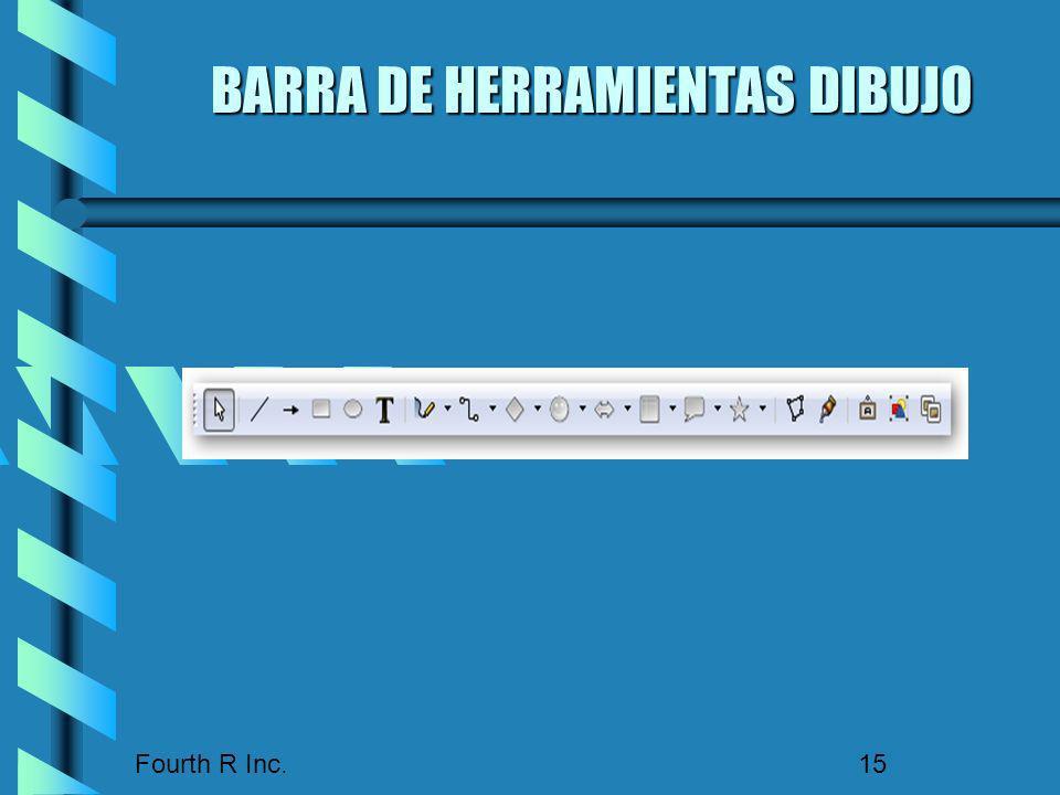 BARRA DE HERRAMIENTAS DIBUJO