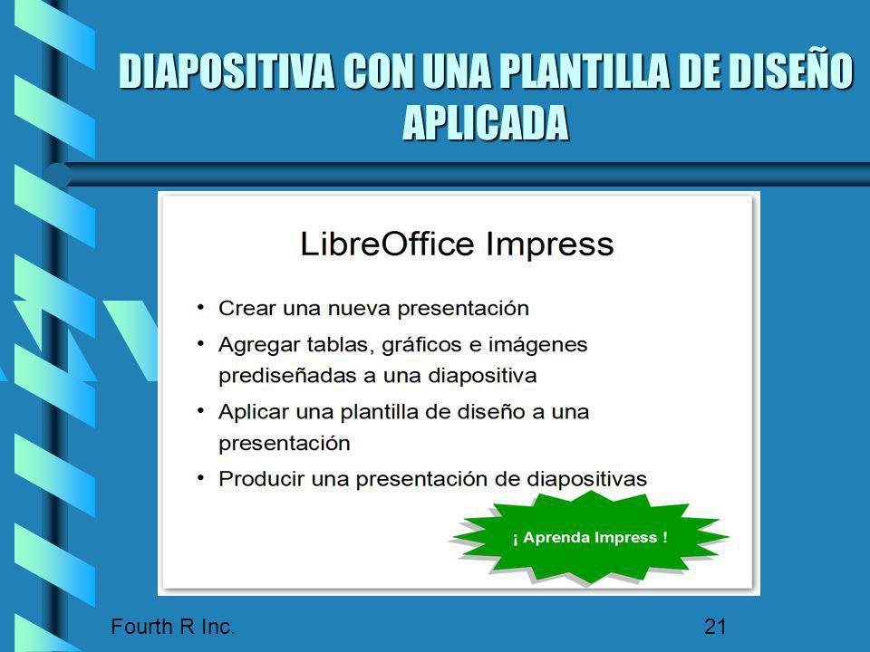 DIAPOSITIVA CON UNA PLANTILLA DE DISEÑO APLICADA