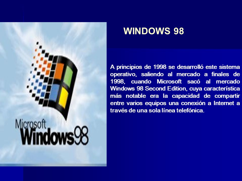 WINDOWS 98