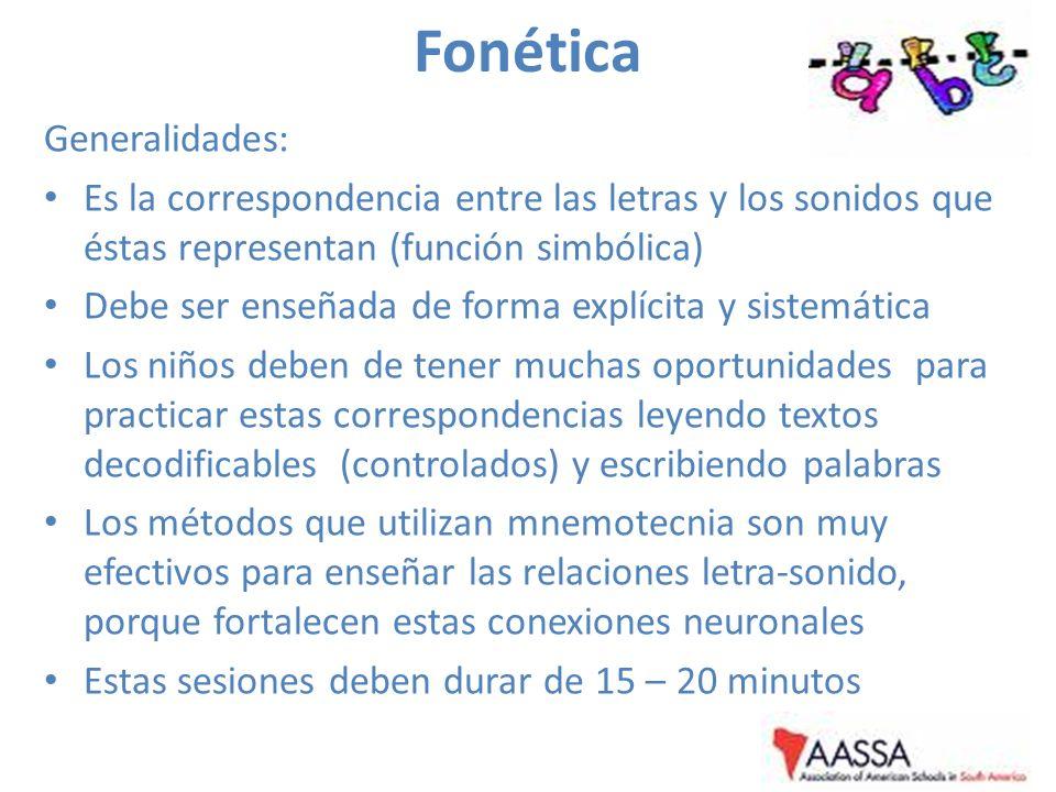 Fonética Generalidades: