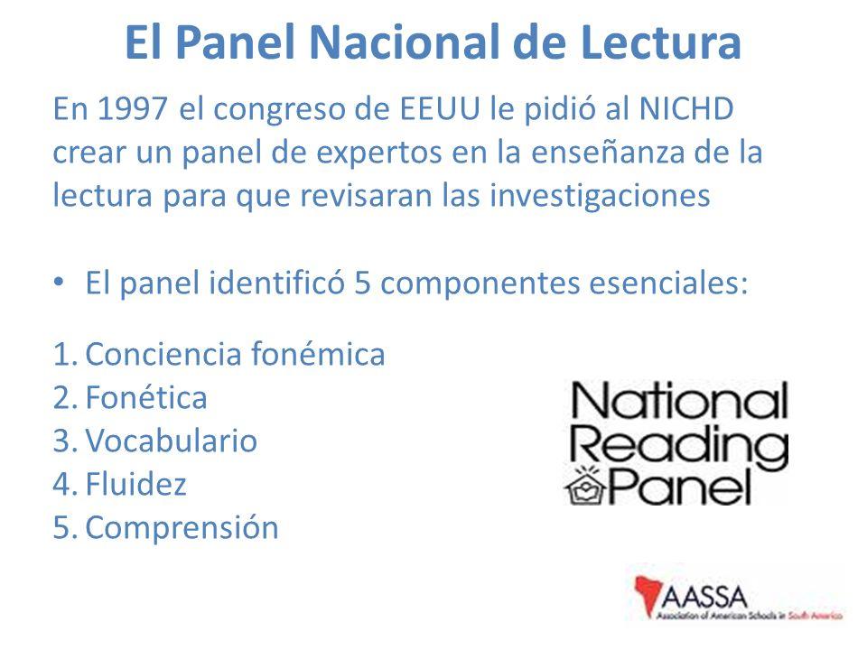 El Panel Nacional de Lectura