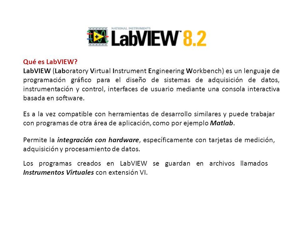 Qué es LabVIEW