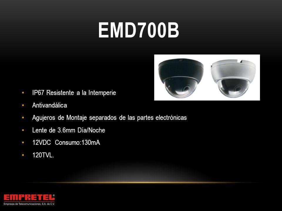 EMD700B IP67 Resistente a la Intemperie Antivandálica