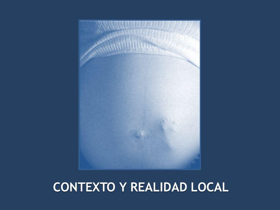 CONTEXTO Y REALIDAD LOCAL