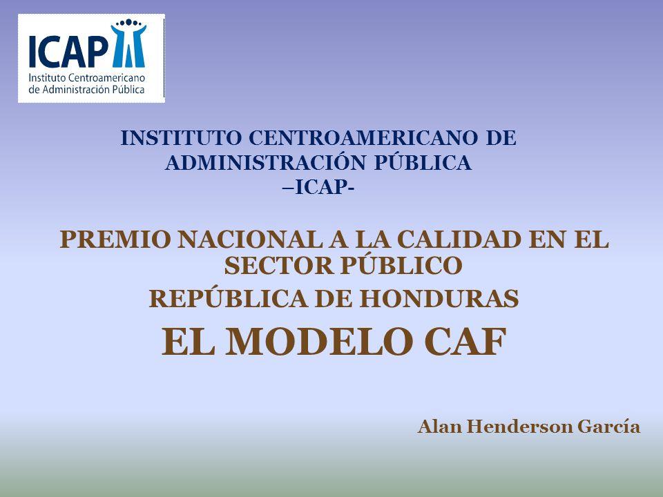 INSTITUTO CENTROAMERICANO DE ADMINISTRACIÓN PÚBLICA –ICAP-