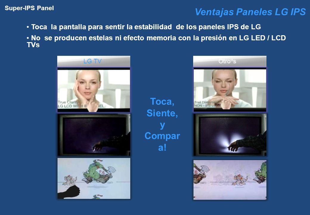 Ventajas Paneles LG IPS