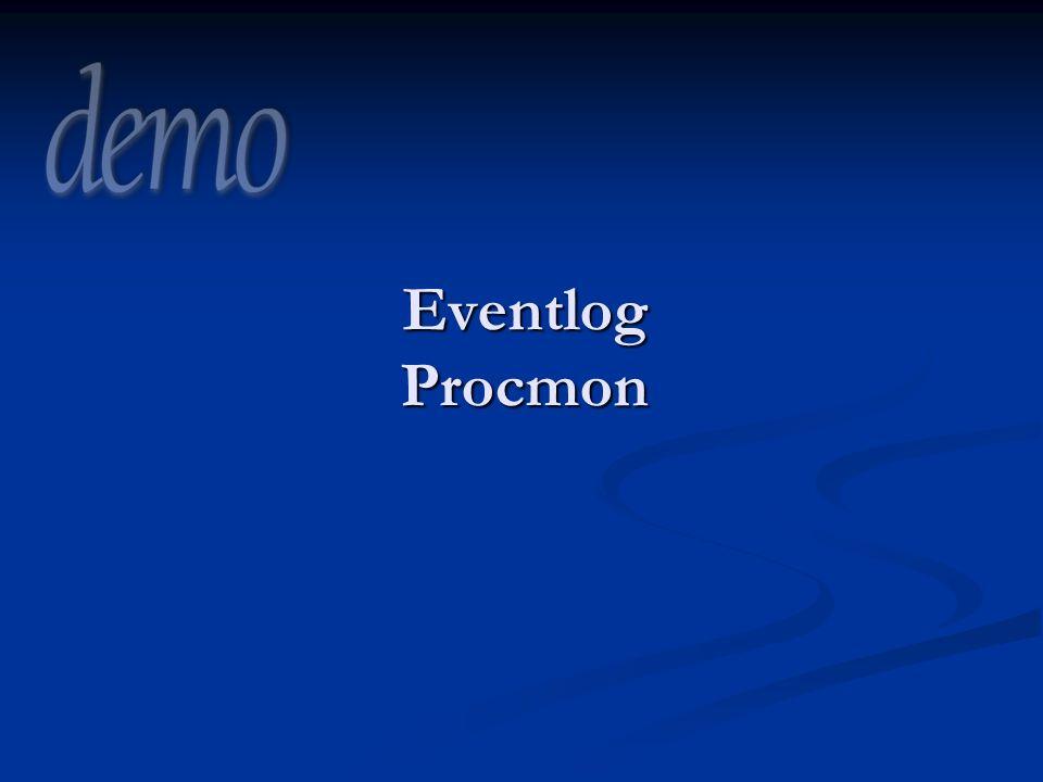 3/29/2017 8:38 PM Eventlog Procmon
