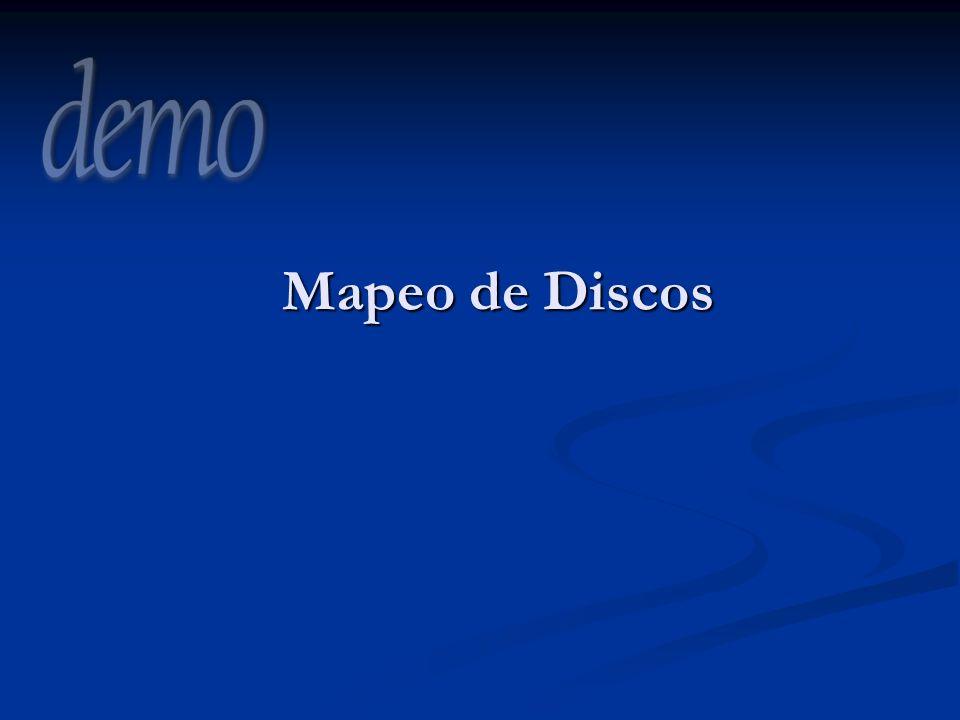 3/29/2017 8:38 PM Mapeo de Discos