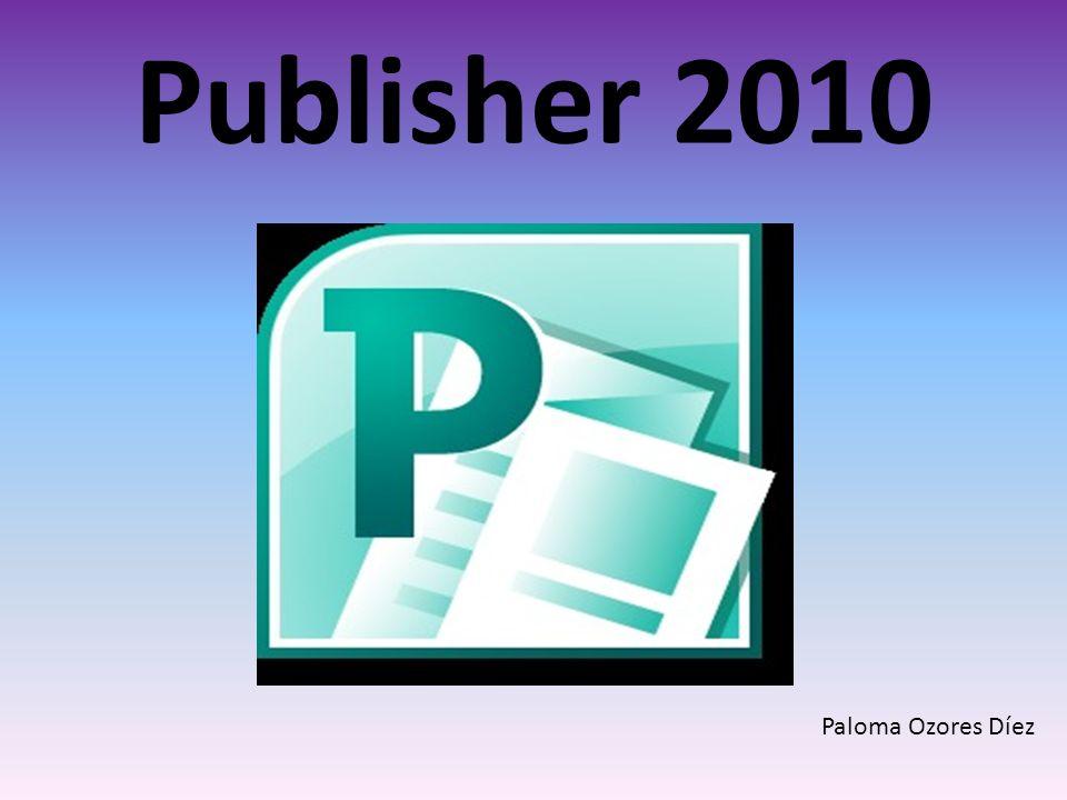 Publisher 2010 Paloma Ozores Díez