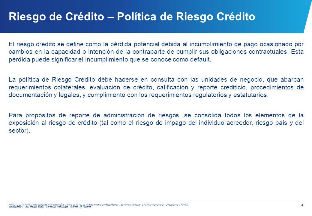 Riesgo Crédito - Análisis de Deterioro