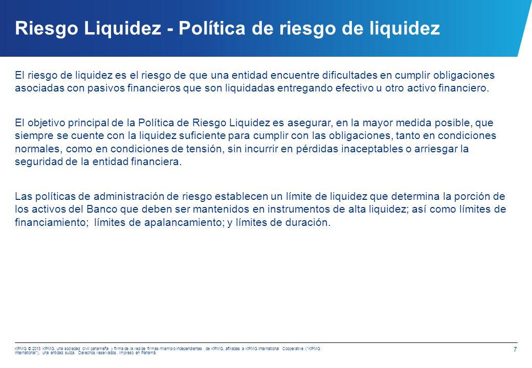 Riesgo Liquidez - Activos líquidos netos sobre los depósitos recibidos de clientes