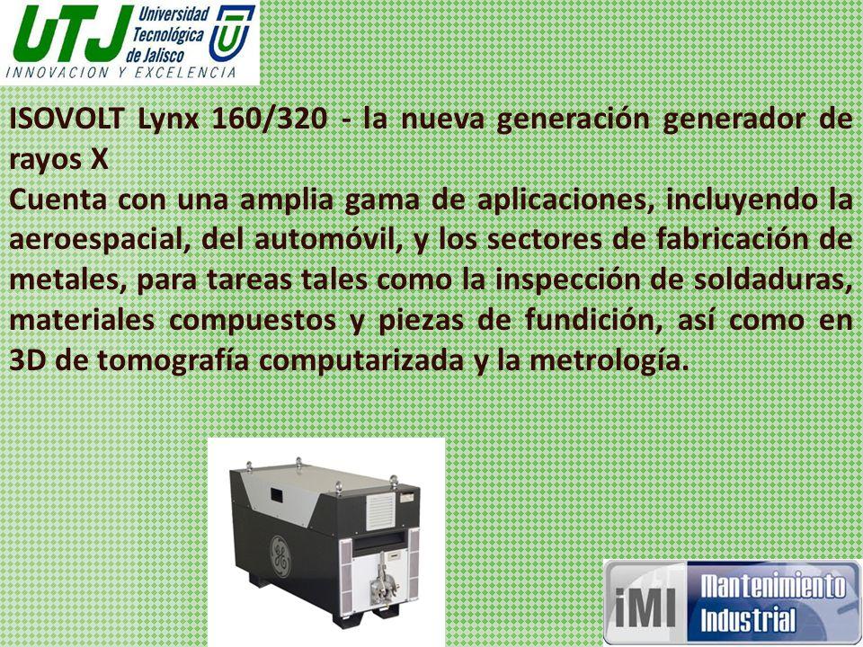 ISOVOLT Lynx 160/320 - la nueva generación generador de rayos X