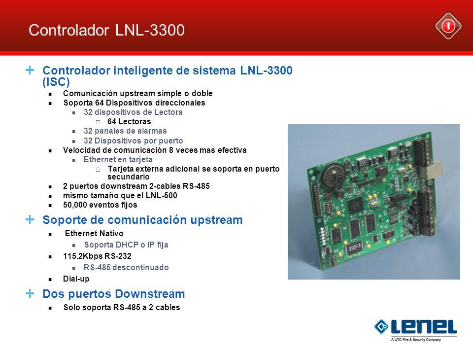 Controlador LNL-3300 Controlador inteligente de sistema LNL-3300 (ISC)
