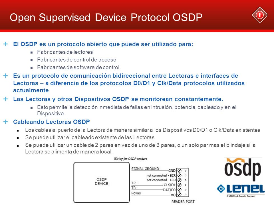 Open Supervised Device Protocol OSDP