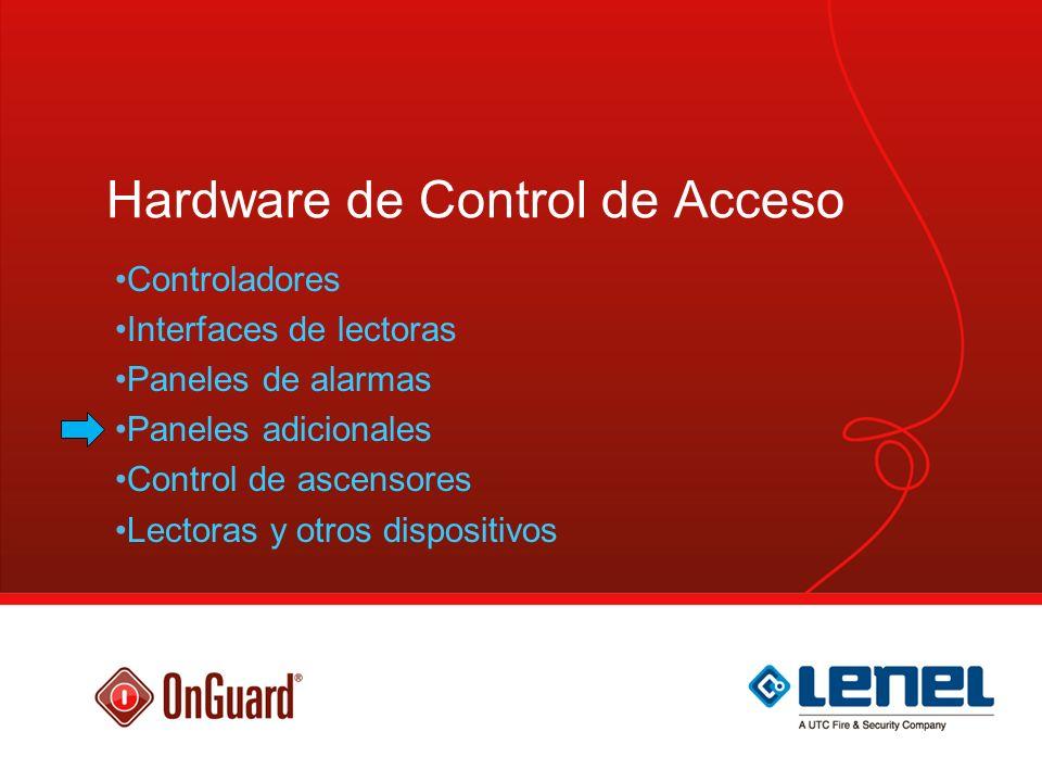 Hardware de Control de Acceso