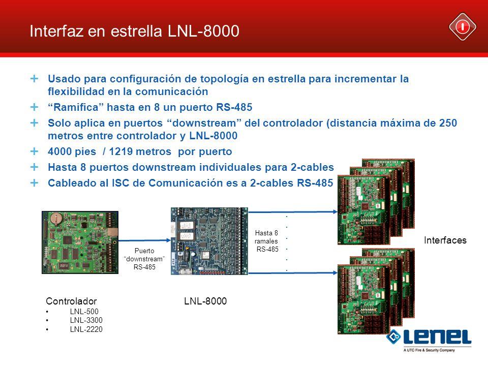 Interfaz en estrella LNL-8000