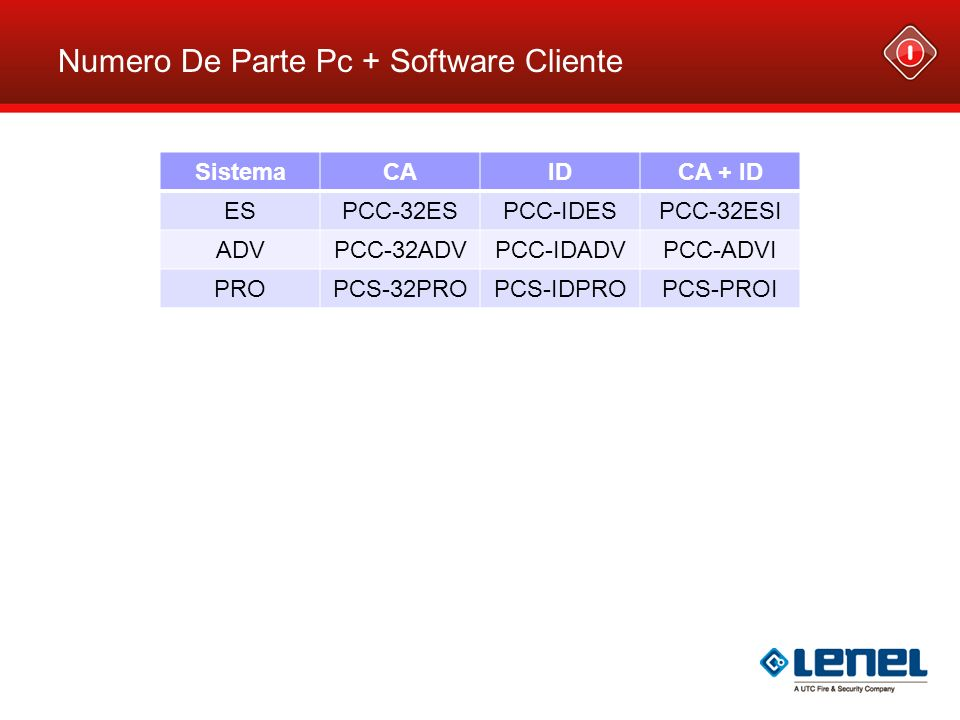 Numero De Parte Pc + Software Cliente