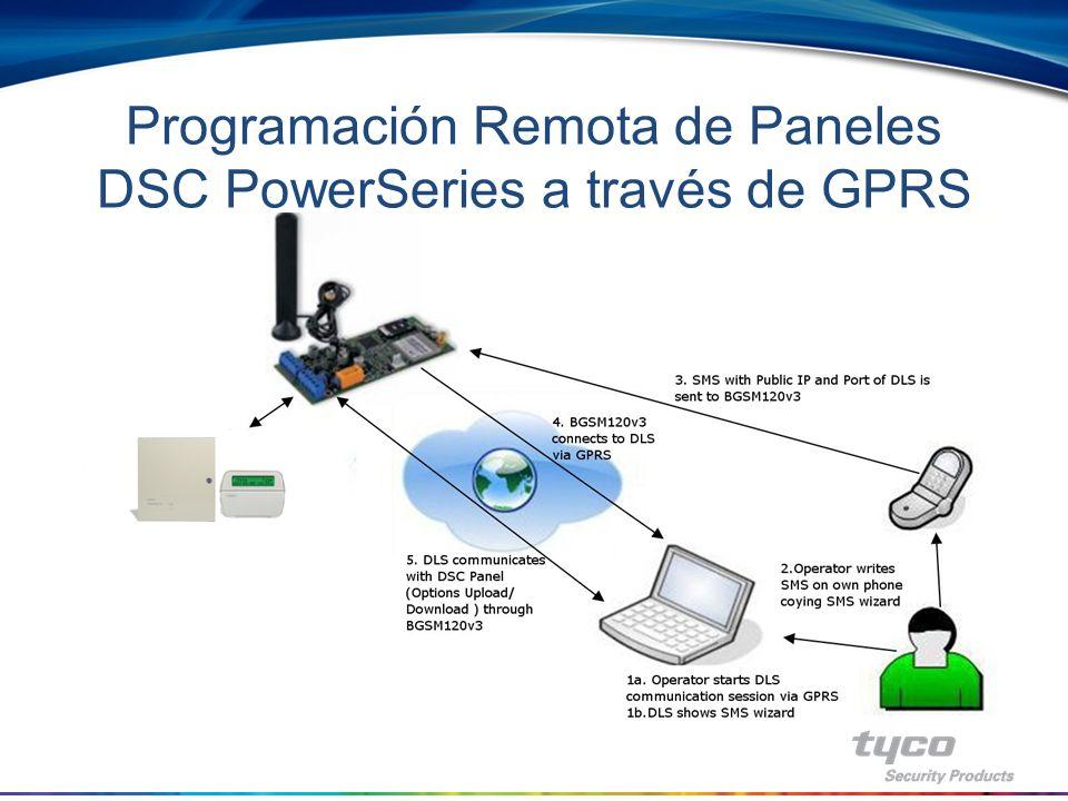 Programación Remota de Paneles DSC PowerSeries a través de GPRS