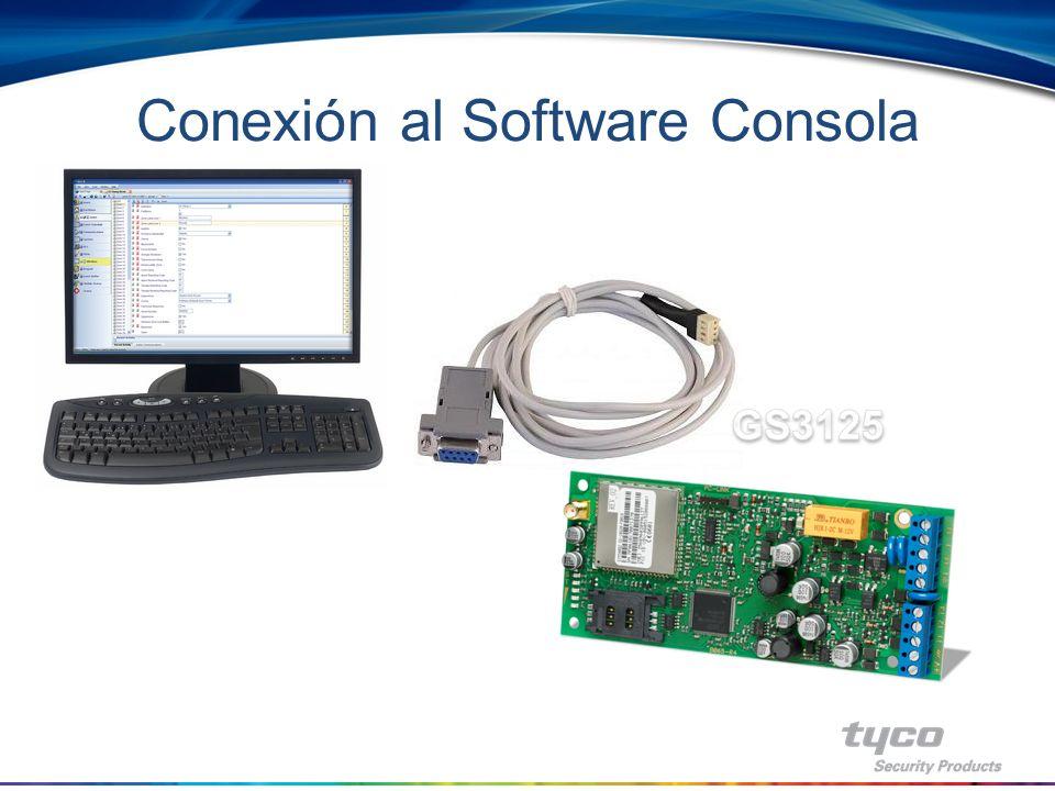 Conexión al Software Consola