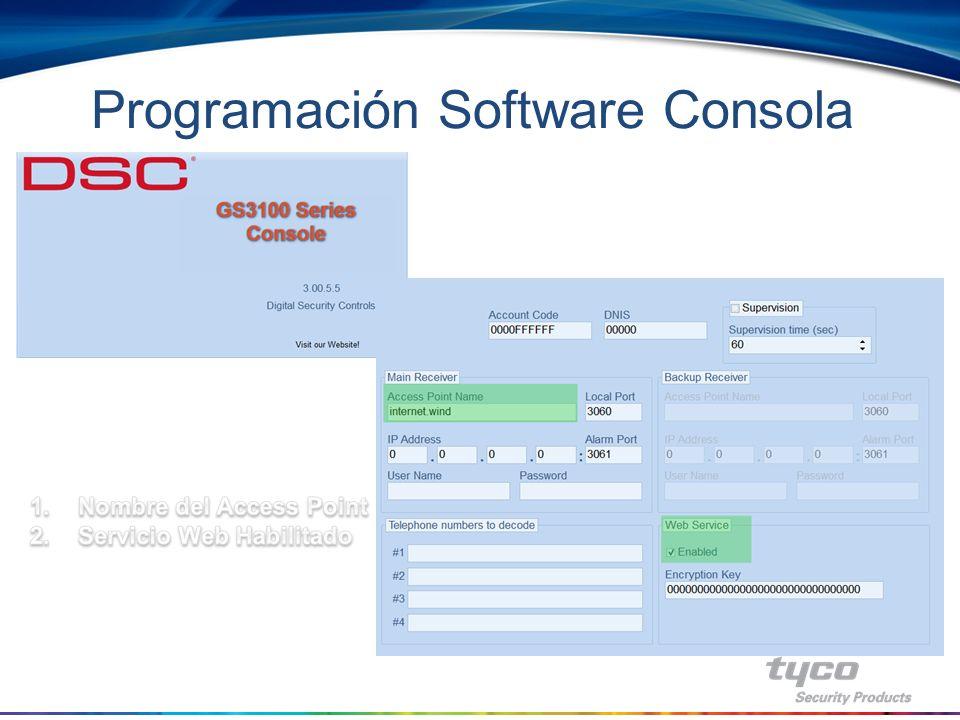 Programación Software Consola