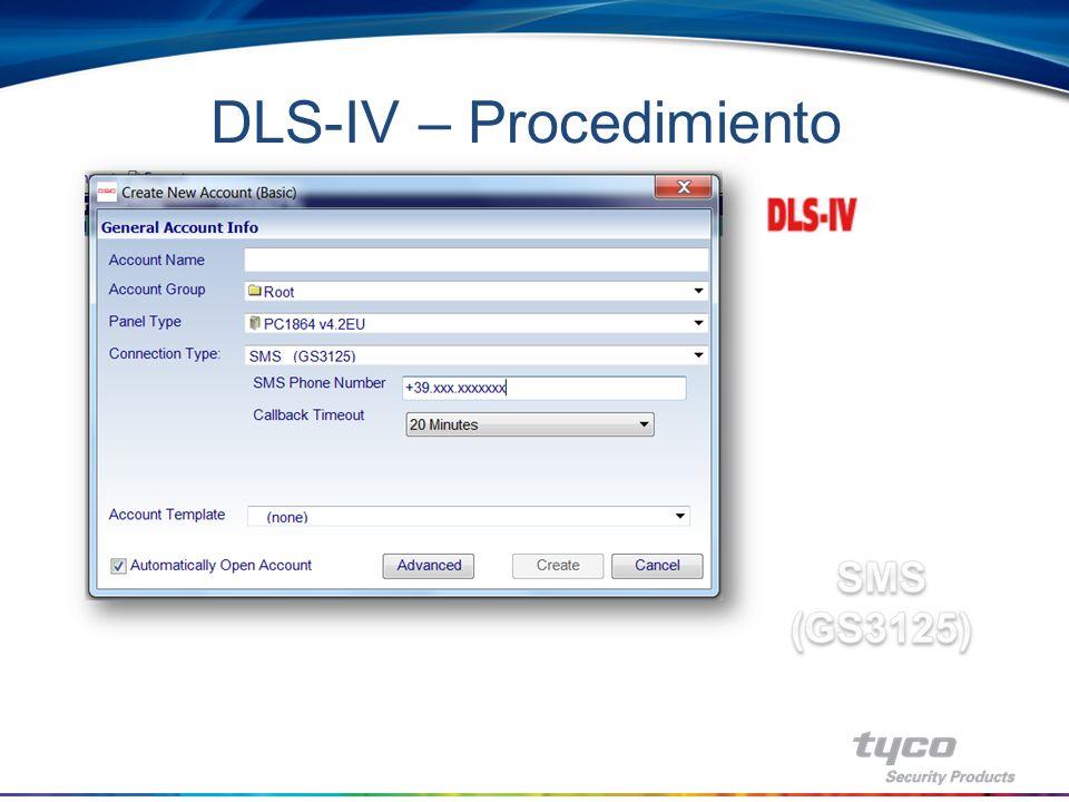 DLS-IV – Procedimiento
