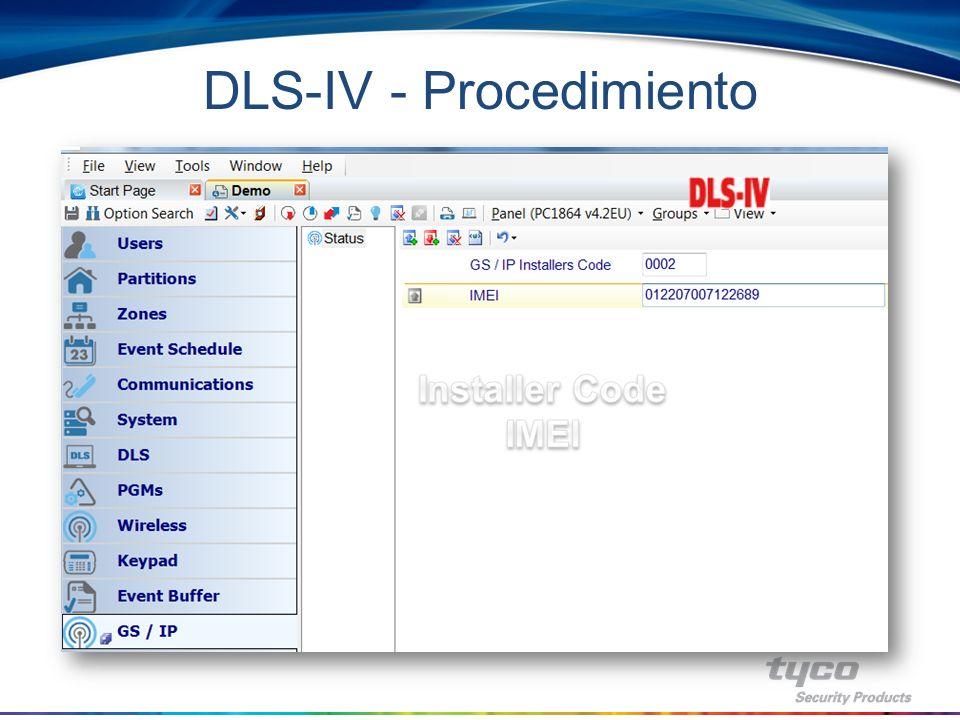 DLS-IV - Procedimiento