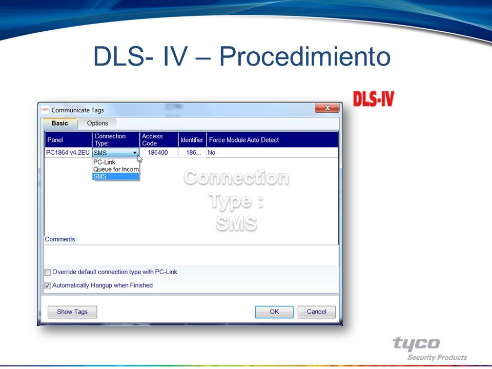 DLS- IV – Procedimiento