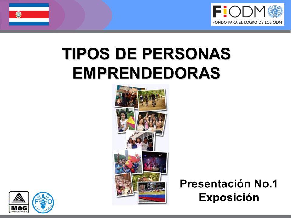 TIPOS DE PERSONAS EMPRENDEDORAS