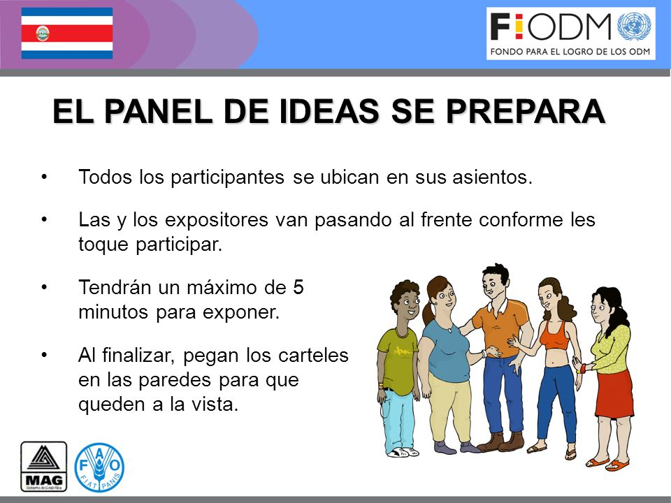 EL PANEL DE IDEAS SE PREPARA
