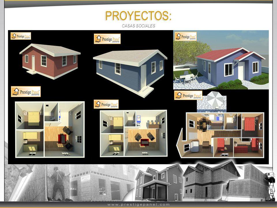 PROYECTOS: CASAS SOCIALES