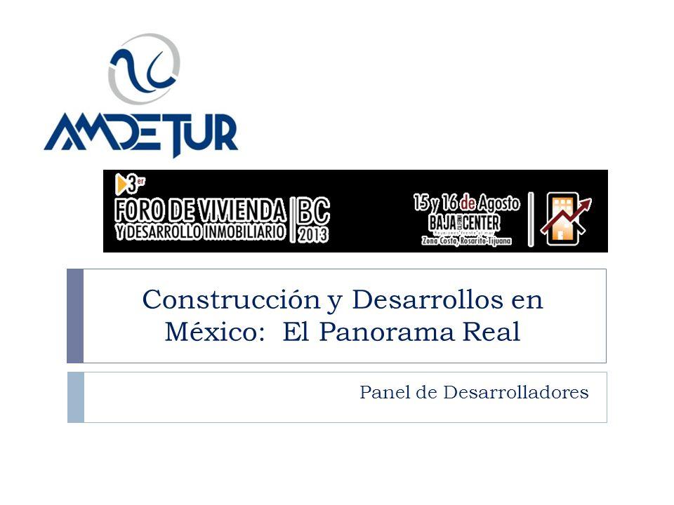 Construcción y Desarrollos en México: El Panorama Real