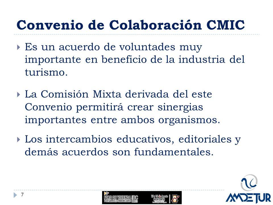Convenio de Colaboración CMIC