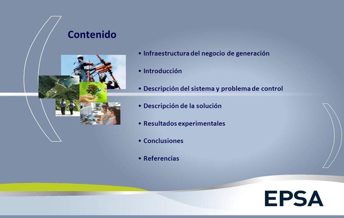 Infraestructura del negocio de generación