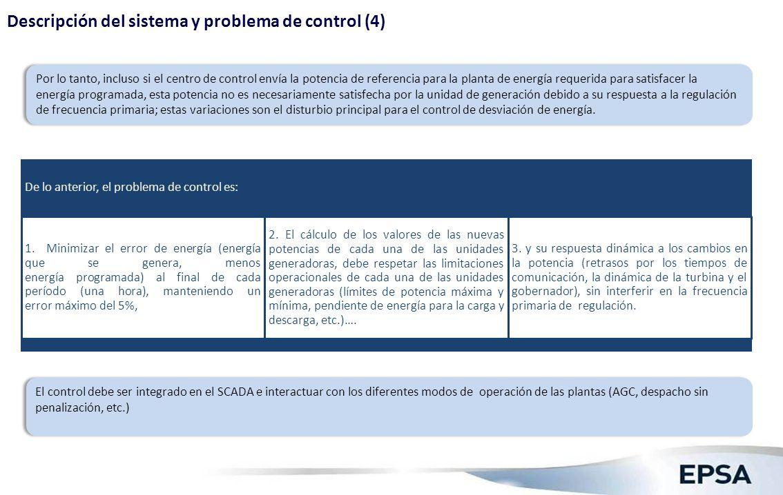 Diseño Conceptual A. Especificaciones funcionales del control de desviación de energía.